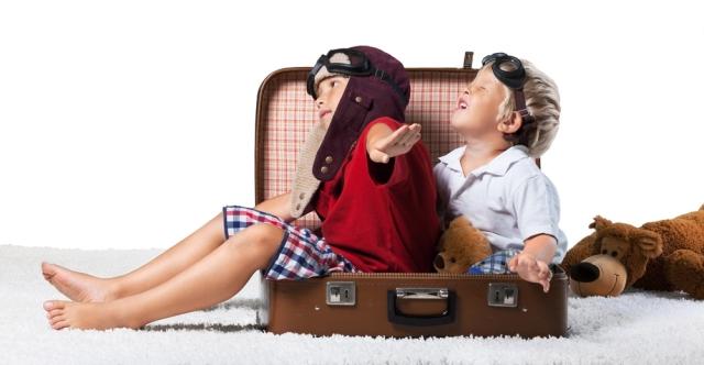10 dicas para viagens com crianças!